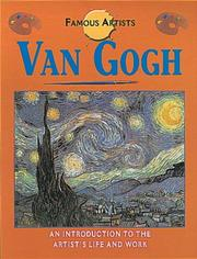 Cover of: Van Gogh (Famous Artists)