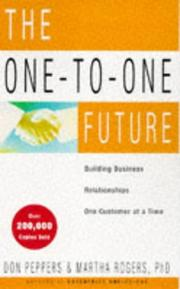 Cover of: The One-to-one Future