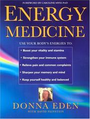Cover of: Energy Medicine