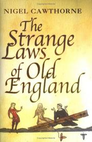 Cover of: The Strange Laws of Old England