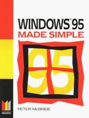 Cover of: Windows 95 Made Simple (Made Simple Computer)