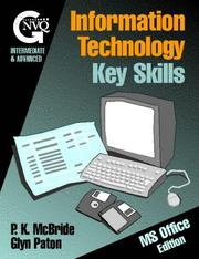 Cover of: Information Technology Key Skills: Intermediate and Advanced Level Gnvq