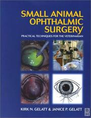 Cover of: Small Animal Ophthalmic Surgery