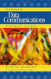 Cover of: Newnes Data Communications Pocket Book, Fourth Edition (Newnes Pocket Books)