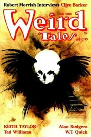Cover of: Weird Tales 292 Fall 1988