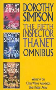 Cover of: The Fifth Inspector Thanet Omnibus