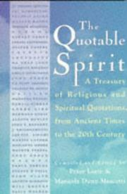 Cover of: The Quotable Spirit