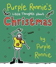 Cover of: Purple Ronnie's Little Thoughts About Christmas (Purple Ronnie)
