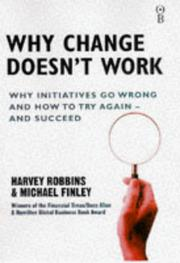 Cover of: Why Change Doesn't Work