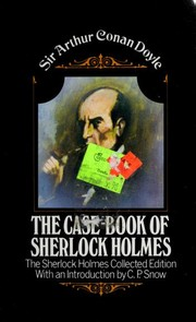Cover of: The Case-Book of Sherlock Holmes