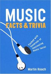 Cover of: Music Facts and Trivia