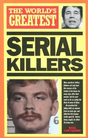 Cover of: The World's Greatest Serial Killers (World's Greatest)