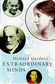 Cover of: Extraordinary Minds (Master Minds)