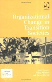 Cover of: Organizational Change in Transition Societies (Transition and Development)