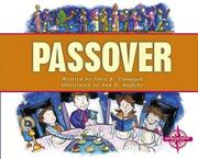 Cover of: Passover (Holidays and Festivals (Compass Point Books).)