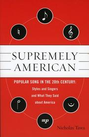 Cover of: Supremely American