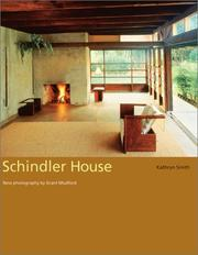 Cover of: Schindler House
