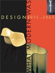 Cover of: Design 1935-1965