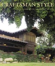 Cover of: Craftsman Style