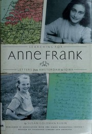 Cover of: Searching for Anne Frank: Letters From Amsterdam to Iowa