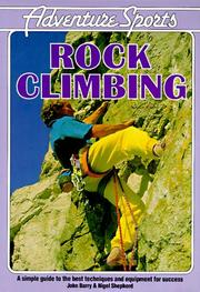 Cover of: Rock Climbing (Adventure Sports)