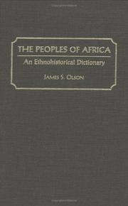 Cover of: The peoples of Africa