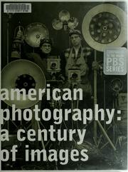 Cover of: American photography
