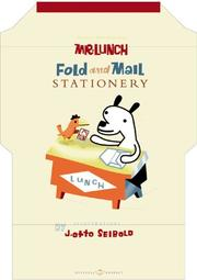 Cover of: Mr. Lunch Fold and Mail Stationary