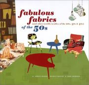 Cover of: Fabulous Fabrics of the 50s (and Other Terrific Textiles of the 20s, 30s, & 40s)