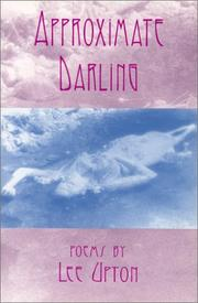 Cover of: Approximate darling: poems