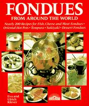 Cover of: Fondues from Around the World