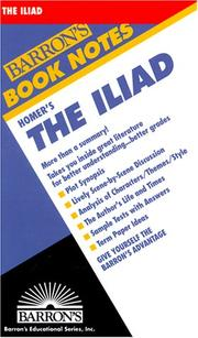 Cover of: Iliad