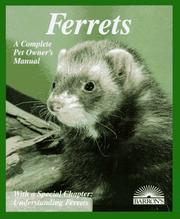 Cover of: Ferrets