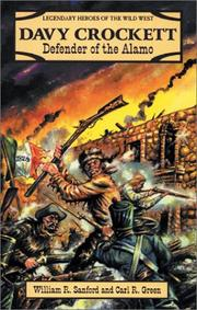 Cover of: Davy Crockett: defender of the Alamo