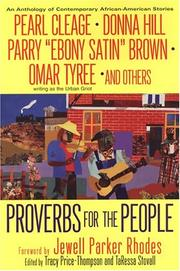Cover of: Proverbs For The People