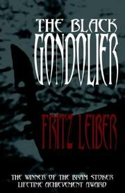 Cover of: The Black Gondolier