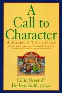 Cover of: A call to character