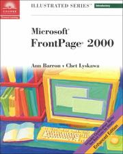 Cover of: Microsoft FrontPage 2000 - Illustrated Introductory, Enhanced Edition