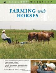 Cover of: Farming with Horses (Country Workshop)