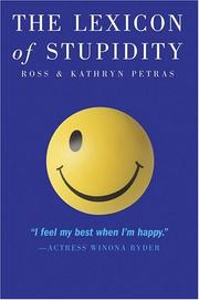 Cover of: The Lexicon of Stupidity