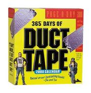 Cover of: 365 Days of Duct Tape Page-A-Day Calendar 2008