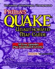 Cover of: Quake Unauthorized Map Guide (Prima's Secrets of the Games)
