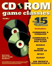 Cover of: CD-ROM Classics Vol. 2 (Secrets of the Games Series.)