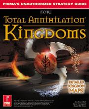 Cover of: Total Annihilation Kingdoms: Prima's Unauthorized Strategy Guide