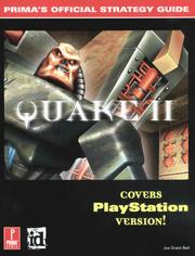 Cover of: Quake II (PSX) (Prima's Official Strategy Guide)