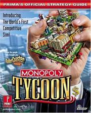 Cover of: Monopoly Tycoon: Prima's Official Strategy Guide