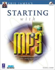Cover of: Kris Jamsa's Starting with MP3