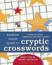 Cover of: Random House Guide to Cryptic Crosswords