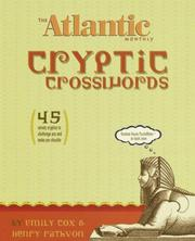 Cover of: Atlantic Monthly Cryptic Crosswords, The (Other)