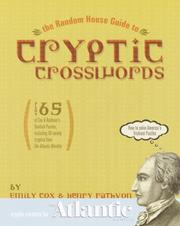 Cover of: Random House Guide to Cryptic Crosswords (Other)